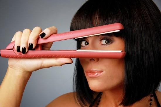 как пользоваться утюжком для волос правильно