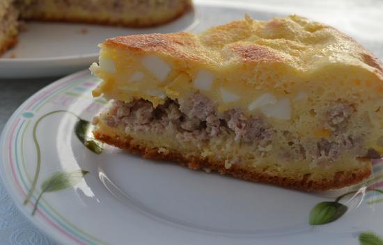 Пироги на скорую руку рецепты с фото из мяса