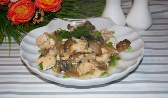 Блюда из филе индейки в духовкеы с картошкой