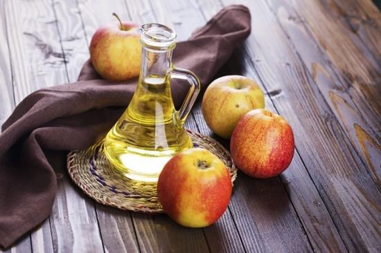 Тест с яблочным уксусом для определения высокого уровня
