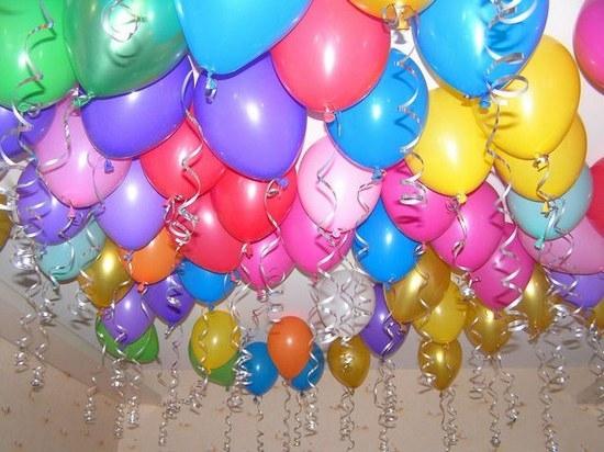 Как сделать летающий гелиевый шарик?