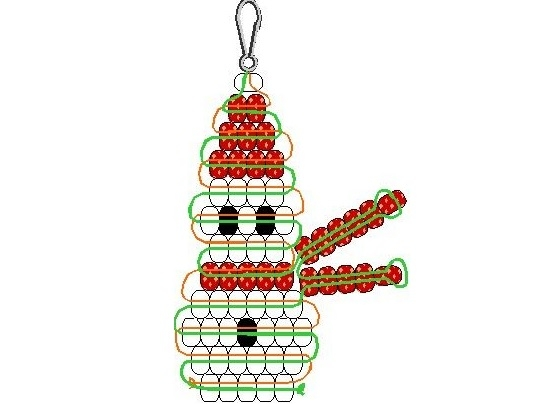 Украсить новогоднюю елку можно не только шарами и гирляндами