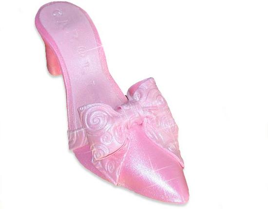 Туфелька для Золушки из мастики