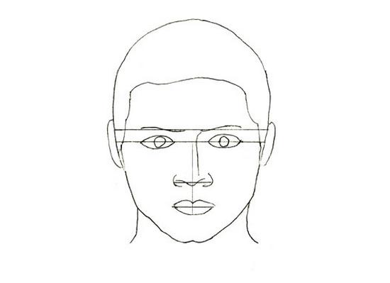 Как рисовать портрет мужчины