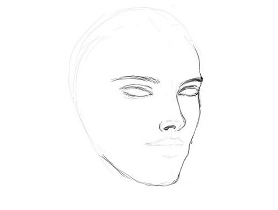 Рисовать жинщину