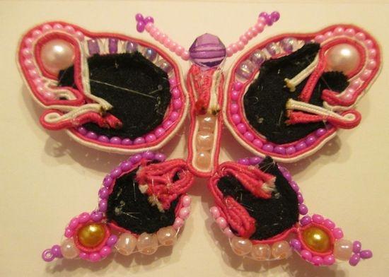 Бабочка готова
