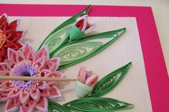 Квиллинг цветов: основные способы работы и мастер класс