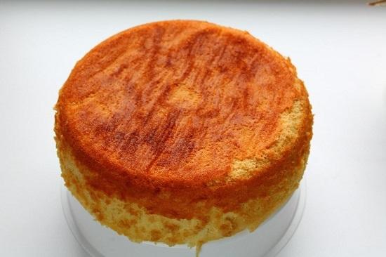 бисквит - простой рецепт в мультиварке