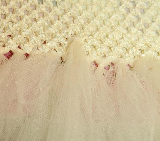 Нежное платье для выпускного бала в детском саду