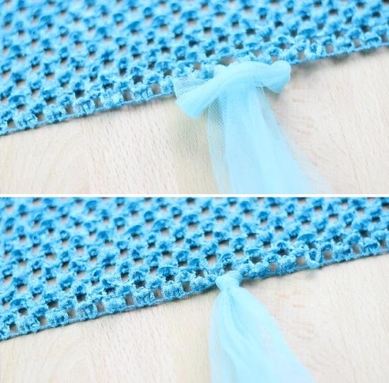 Как сшить платье из фатина инструкция