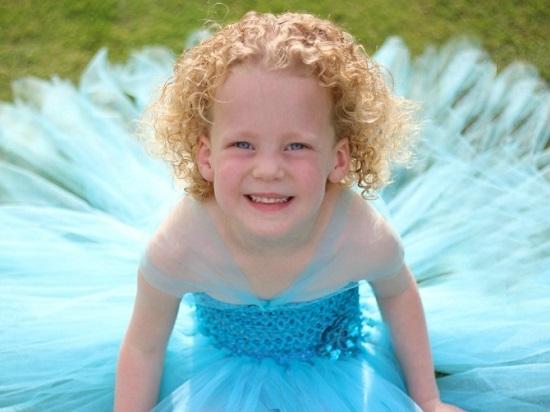 Платье из фатина для девочки своими руками