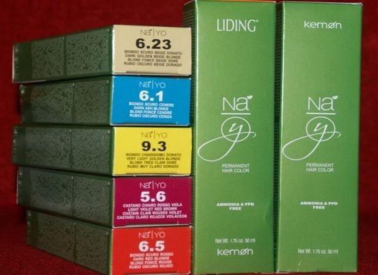 Итальянская краска для волос Na.Yo ориентирована на осветление до 5 уровней без последующего тонирования