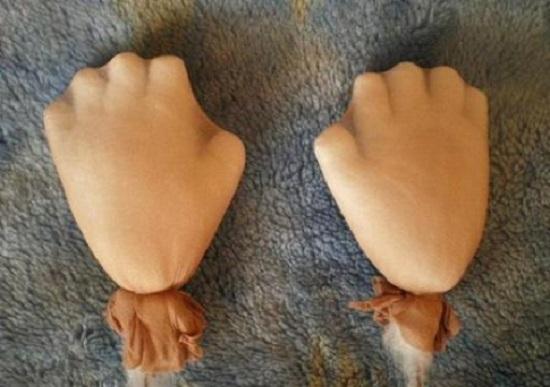 Формируем пальцы