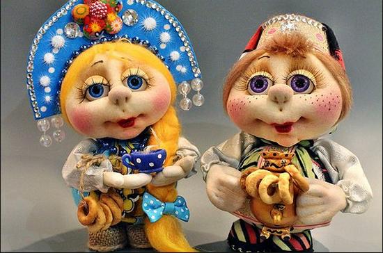 Как сделать куклу-попика из колготок?