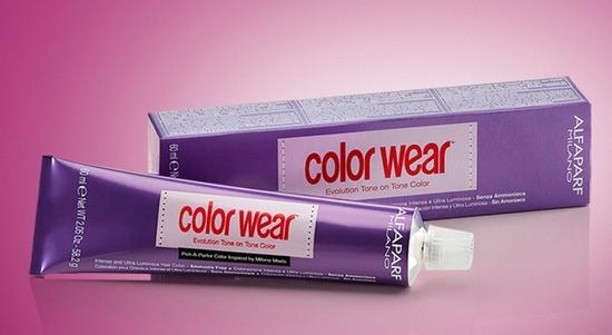 Color Wear – тонирующая итальянская краска без аммиака, не изменит оттенок более чем на тон