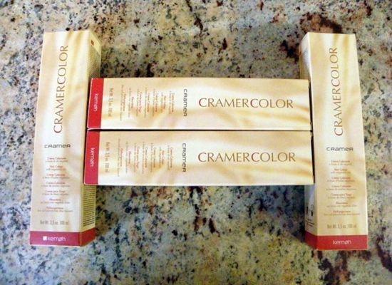 Итальянская краска для волос Cramer на основе кокосового масла с максимально натуральным составом и высокой стойкостью