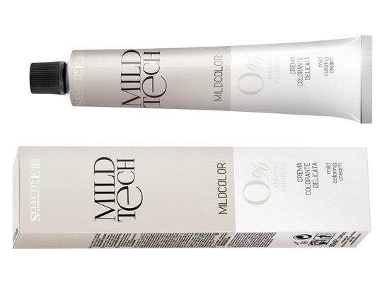 Итальянская краска Mild Colour – для покрытия седины без значительного травмирования волос, в палитре 56 естественных привлекательных оттенков, также в этой серии корректоры чистого цвета