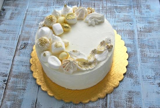 Торт молочная девочка пошаговый рецепт в домашних условиях 91