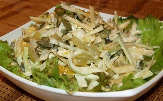 Слоеный салатик «Нежный»