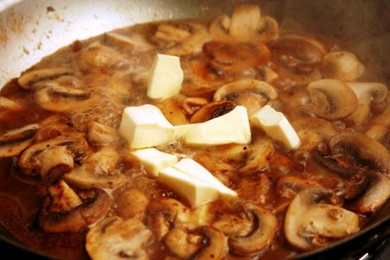 Рецепт из телятины с соусом