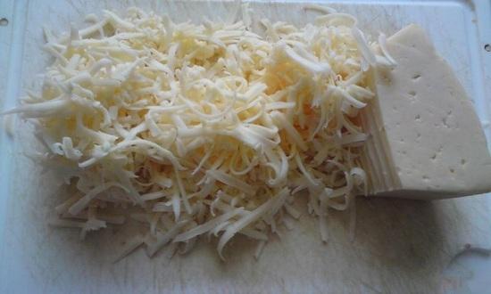 Сыр твердого сорта измельчим