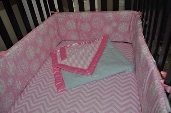 Бортики в кроватку для новорожденных своими руками
