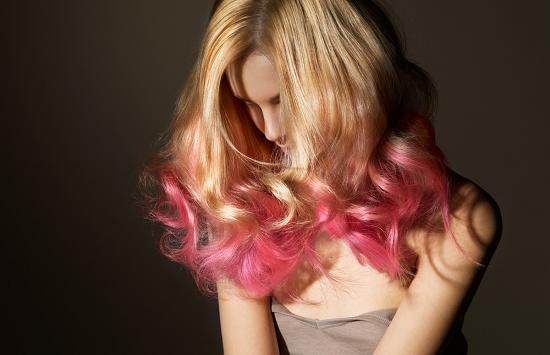 Омбре на светлые волосы – короткие и средние