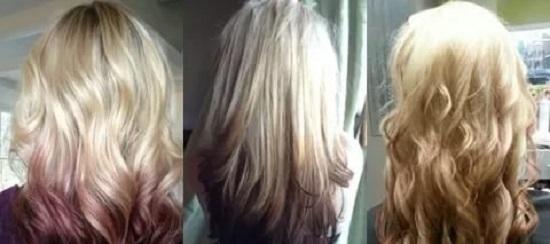 Омбре на светлые волосы – стильно и красиво!