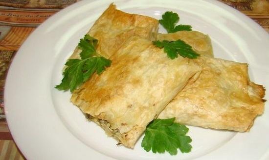 армянский лаваш с начинкой в духовке