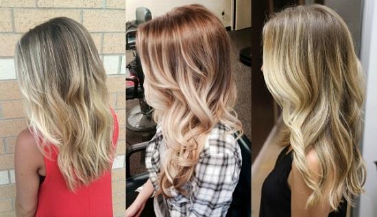 Омбре на светлые волосы: как выбрать тип окрашивания локонов?