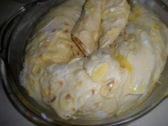 Улитка из лаваша с фаршем пошаговый рецепт