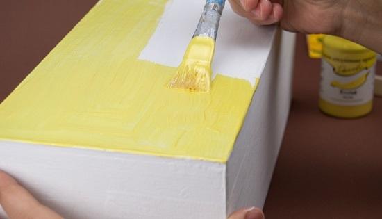 Покрыть краской