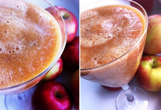 Свежевыжатый яблочный сок: польза и вред