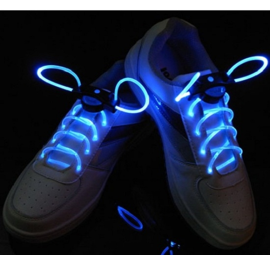 декоративные неоновые шнурки