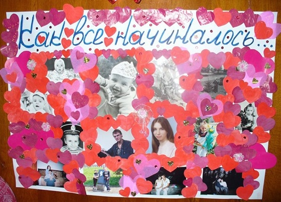 Плакаты на свадьбу фото своими руками