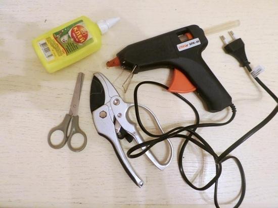 Подготовим остальные инструменты для работы