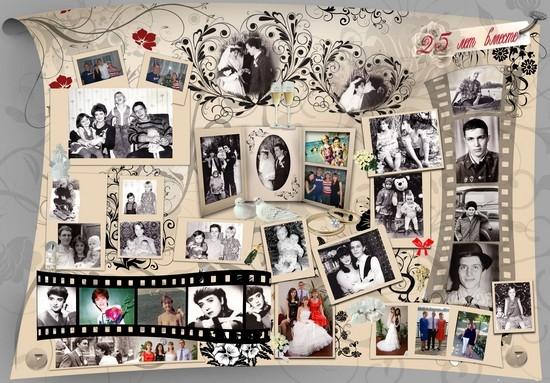плакат на годовщину свадьбы своими руками родителям