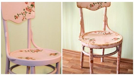 Украсить стула своими руками 354