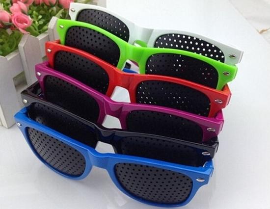 0130508206b6 Очки с дырочками (перфорацией) для улучшения зрения  применение, отзывы