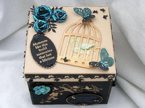 Декорирование коробочки своими руками 3546