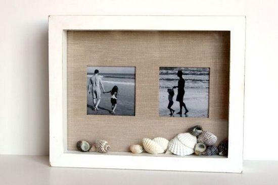 рамка для фото своими руками в подарок