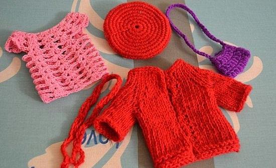 Кукла - модница, ей нужна сумочка и шарфик