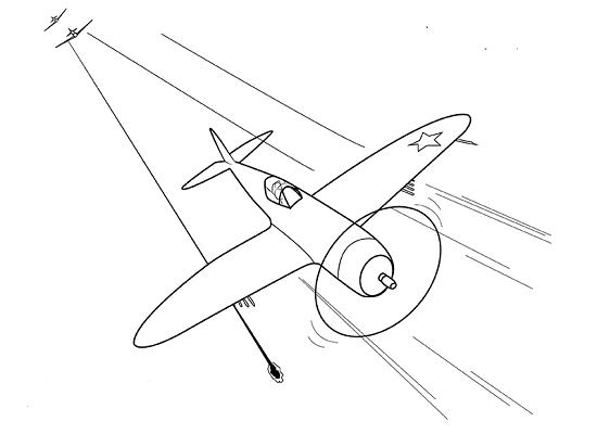 Как рисовать самолет для детей 191