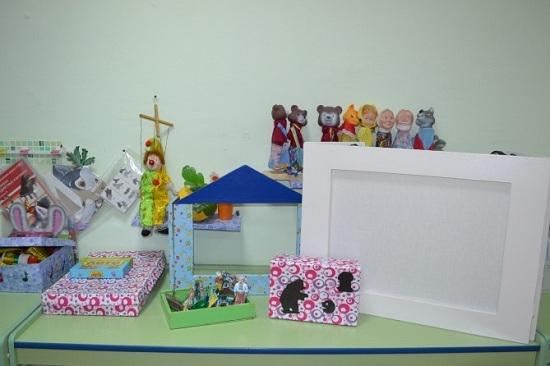 Ширма для кукольного театра: изготовление