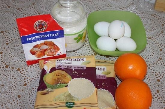 Пирог с апельсинами пошагово