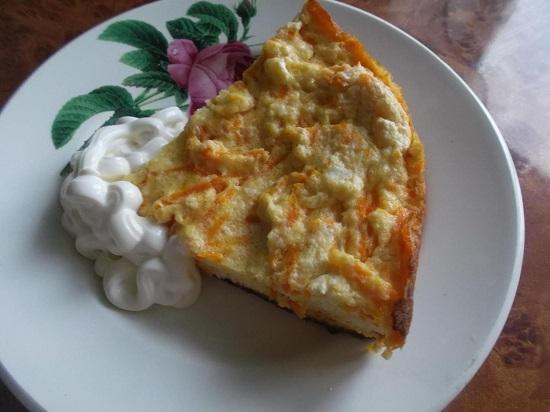 морковная запеканка рецепт с фото пошагово как в детстве