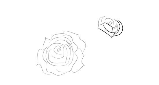 как нарисовать вазу с розами пошагово