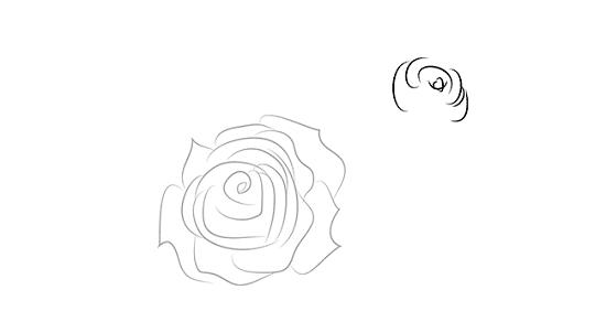 как нарисовать вазу с розами карандашом