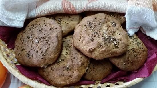 лепешки из ржаной муки со сметаной рецепт приготовления