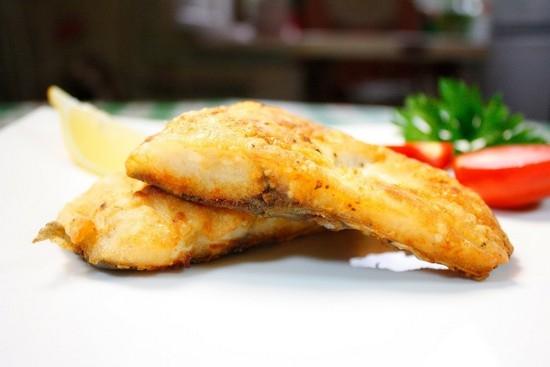 Жареная рыба с овощами на сковороде рецепт пошагово